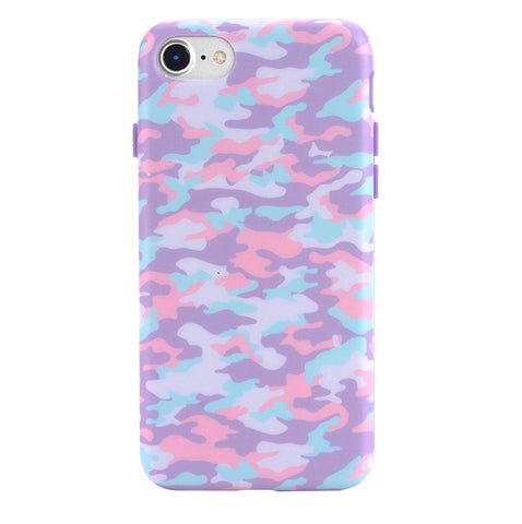 Cotton Candy Camo iPhone Case