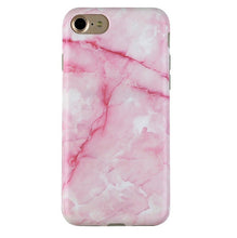 Pink Streak Marble iPhone Case