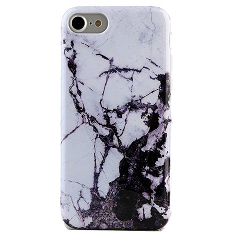 Black & White Marble iPhone Case