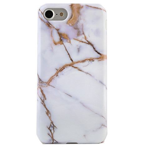 the best attitude 1f951 30b09 White & Gold Marble iPhone Case