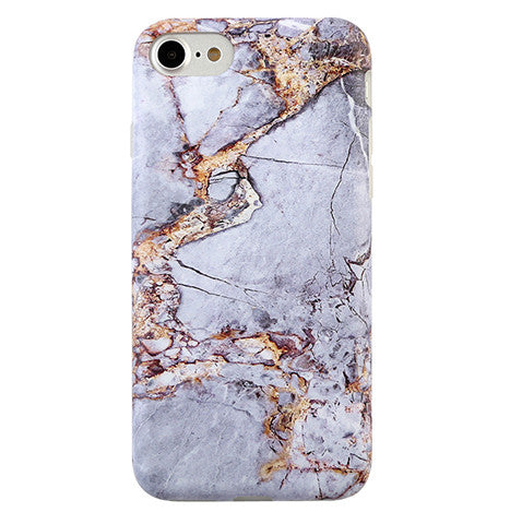 separation shoes 164e8 1bbe7 Gray & Gold Marble iPhone Case