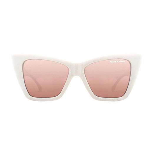 Quay - Vesper Sunglasses In White