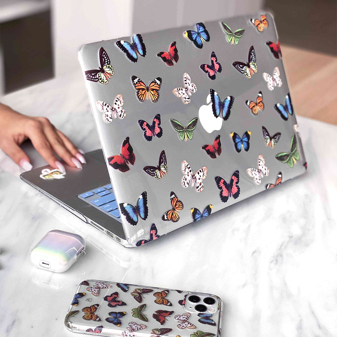 Vintage Butterfly MacBook Case