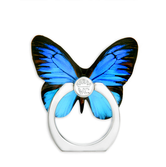 Blue Butterfly Phone Ring