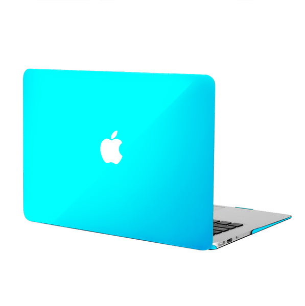 Clear Blue MacBook Case