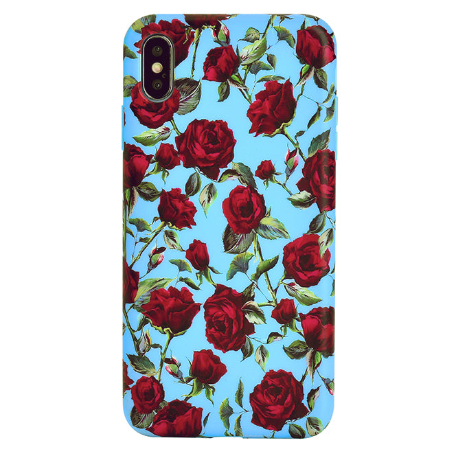 Blue Roses Floral Iphone Case Velvetcaviar Com