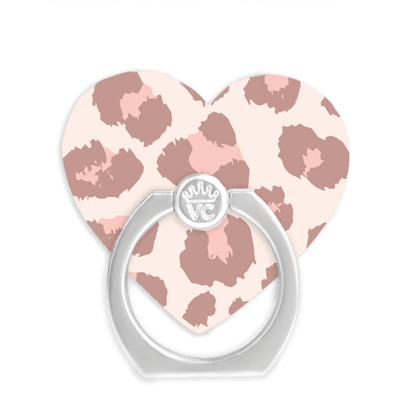 Blush Leopard Phone Ring