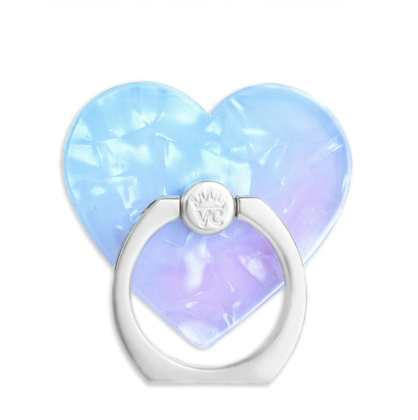 Blue Opal Quartz Phone Ring
