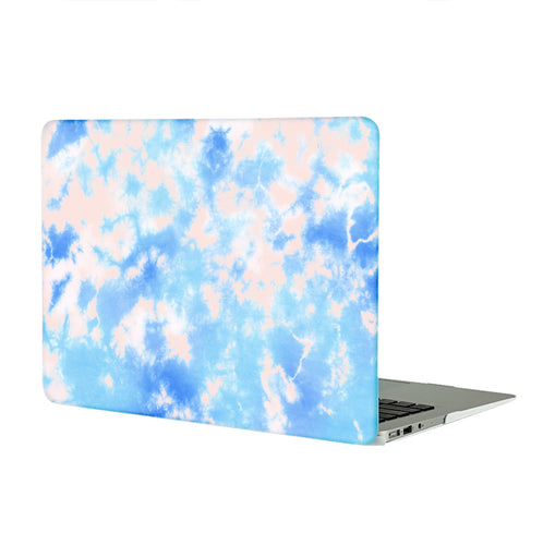 Blue Tie Dye MacBook Case