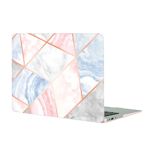 Geometric Marble MacBook Case