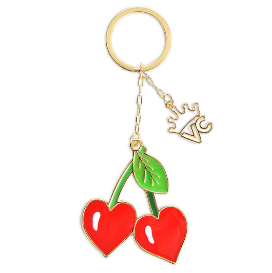 Cherries Keychain