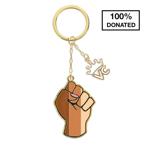 We Stand United Keychain