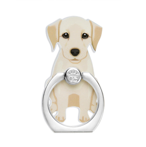 Yellow Lab Phone Ring