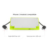 4000 mAh Portable Power Bank Phone Charger - Lime