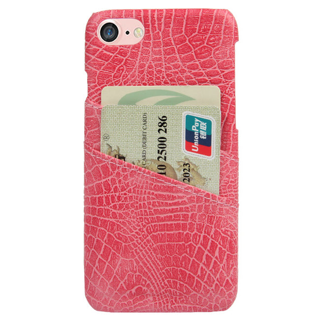 sports shoes 7e954 af856 CROC CARD HOLDER PHONE CASE PINK