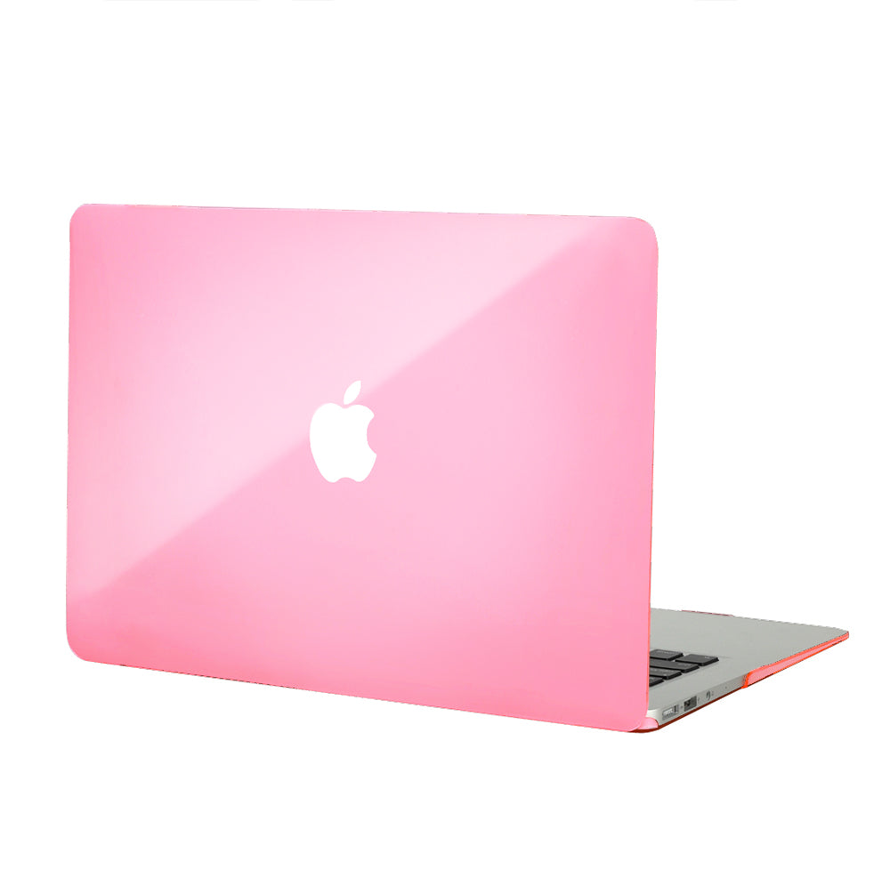 Clear Pink MacBook Case