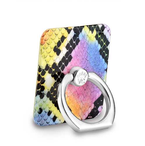 Neon Snakeskin Phone Ring