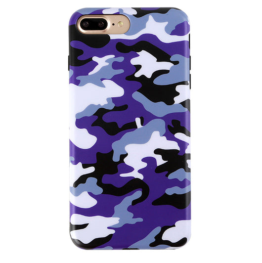 outlet store b68b7 b5bbe Purple Camo iPhone Case