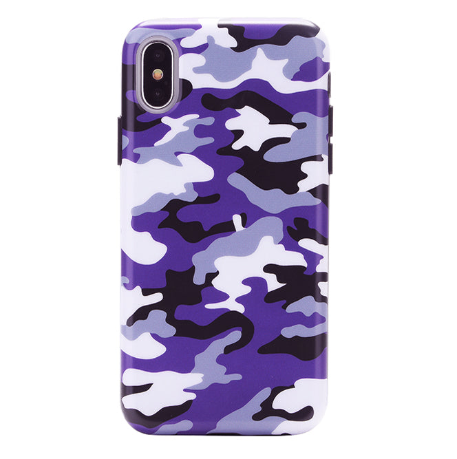 outlet store 52ef2 63174 Purple Camo iPhone Case