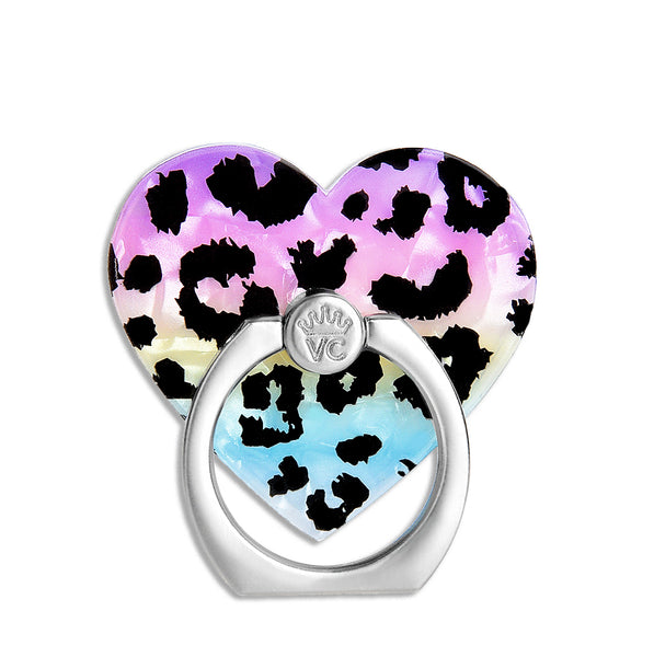 Rainbow Leopard Phone Ring