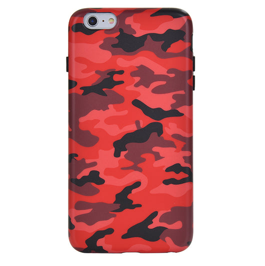 timeless design e5018 3d39f Red Camo iPhone Case