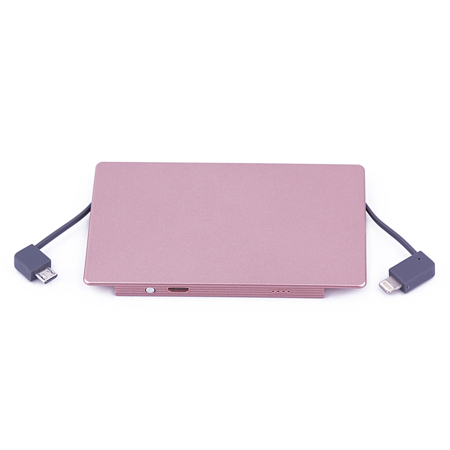 4000 mAh Portable Power Bank Phone Charger - Rose Gold