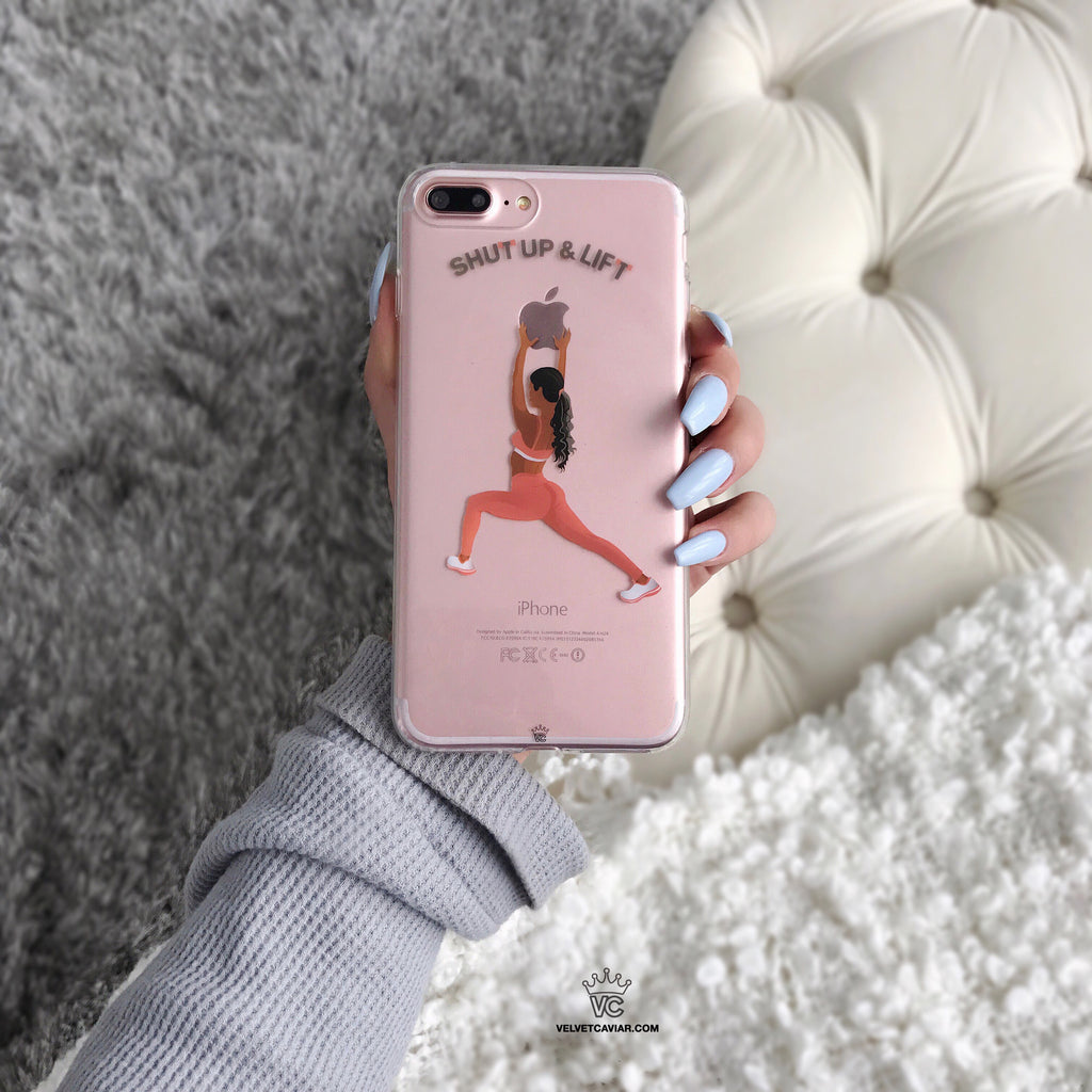 SHUT UP & LIFT iPhone Case