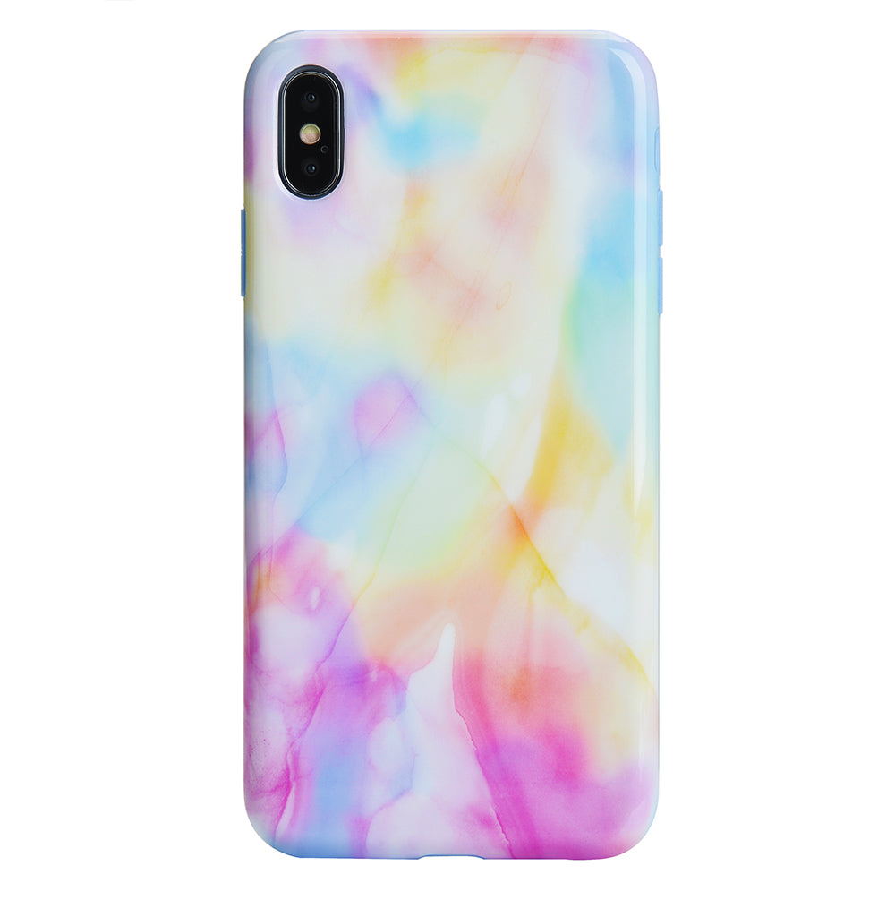 free shipping 43636 a3427 Pastel Tie Dye iPhone Case