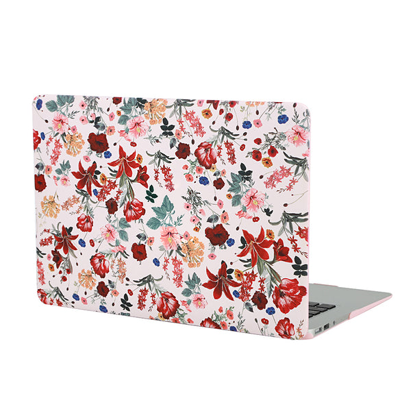 Nude Vintage Floral MacBook Case