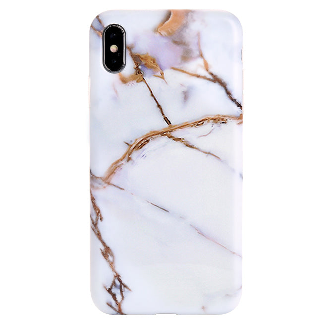 the best attitude a8819 5997c White & Gold Marble iPhone Case