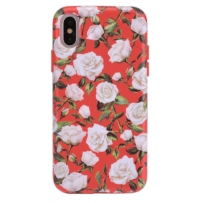 wholesale dealer 420eb 528cf White Roses Floral iPhone Case