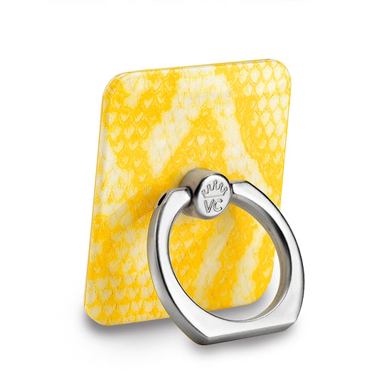 Yellow Snakeskin Phone Ring