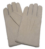 Men's classic lined peccary leather winter gloves