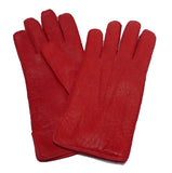 Men's classic unlined peccary leather gloves