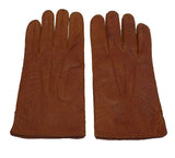 Lady's classic purple unlined peccary leather gloves