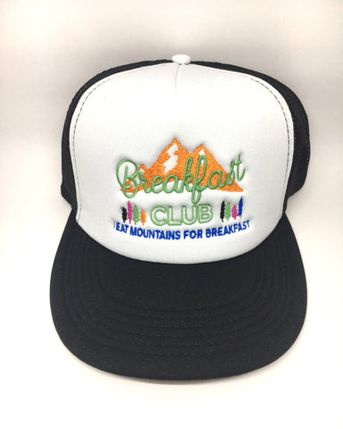 Breakfast Club I Eat Mountains For Breakfast Trucker Hat