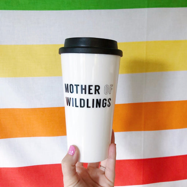 Mother Of Wildlings Coffee Travel Mug