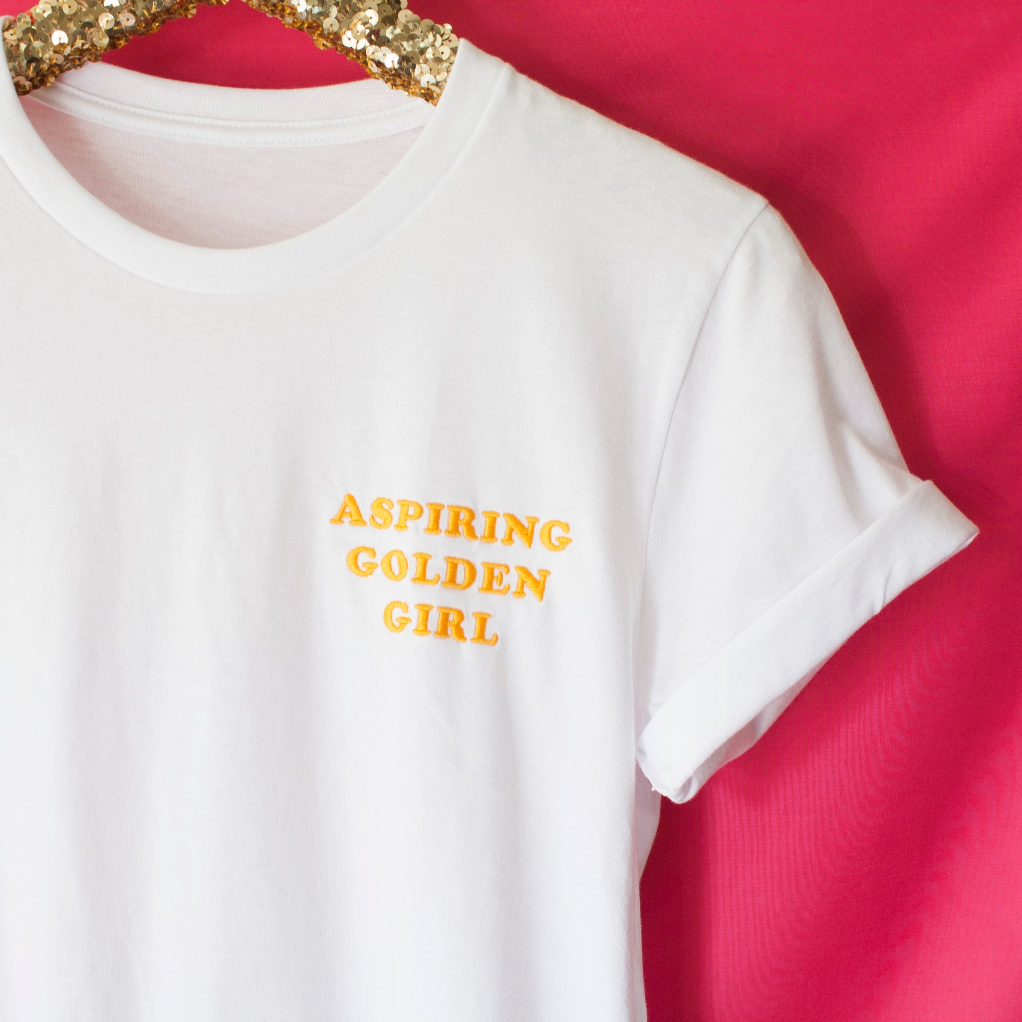 Aspiring Golden Girl - Unisex Tee