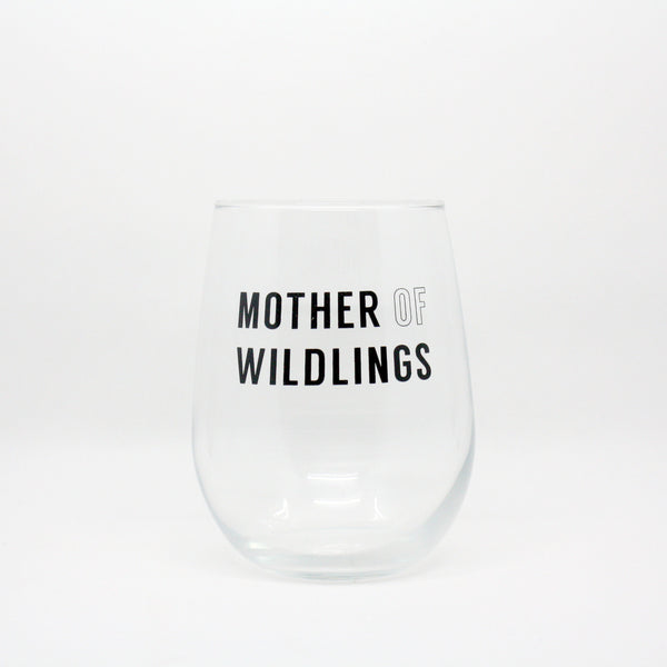 Mother Of Wildlings Wine Glass