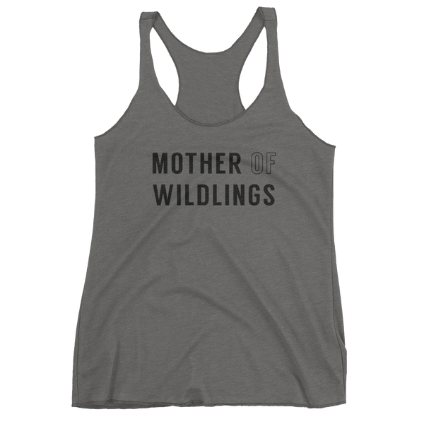 Mother Of Wildlings - Women's Racerback Tank
