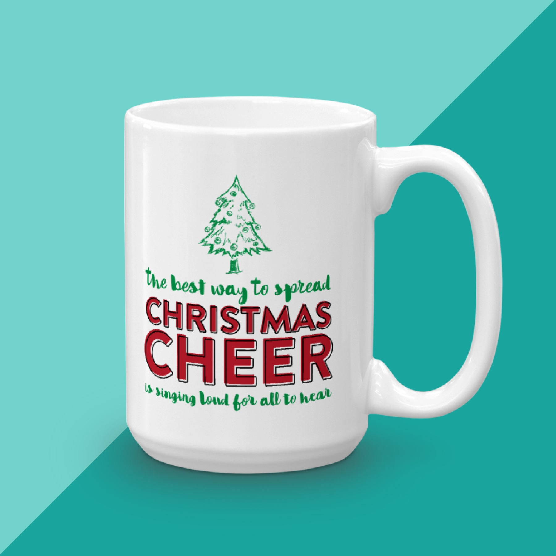 Elf Christmas Cheer Mug