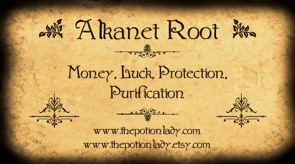 Alkanet Root | Money, Luck, Protection, Purification