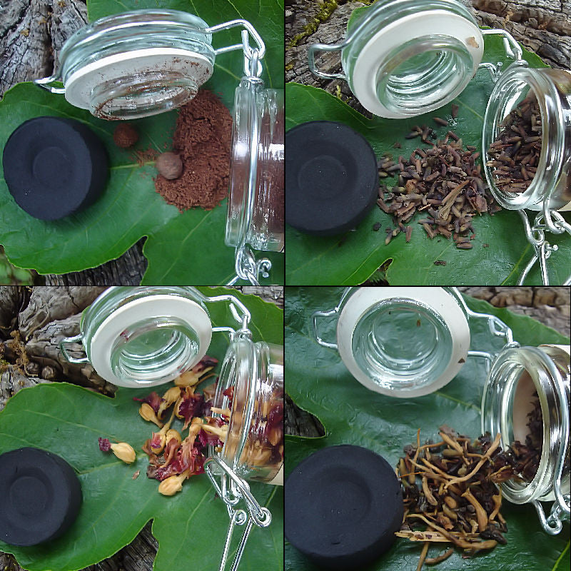 Red Fast Luck Smudging Blend | Good Fortune & Luck In A Hurry, Hoodoo & Witchcraft Supplies