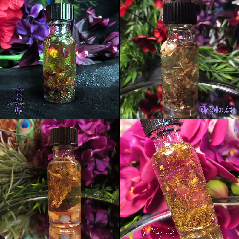 Joyful Spirit Oil | Happiness, Good Cheer | The Potion Lady