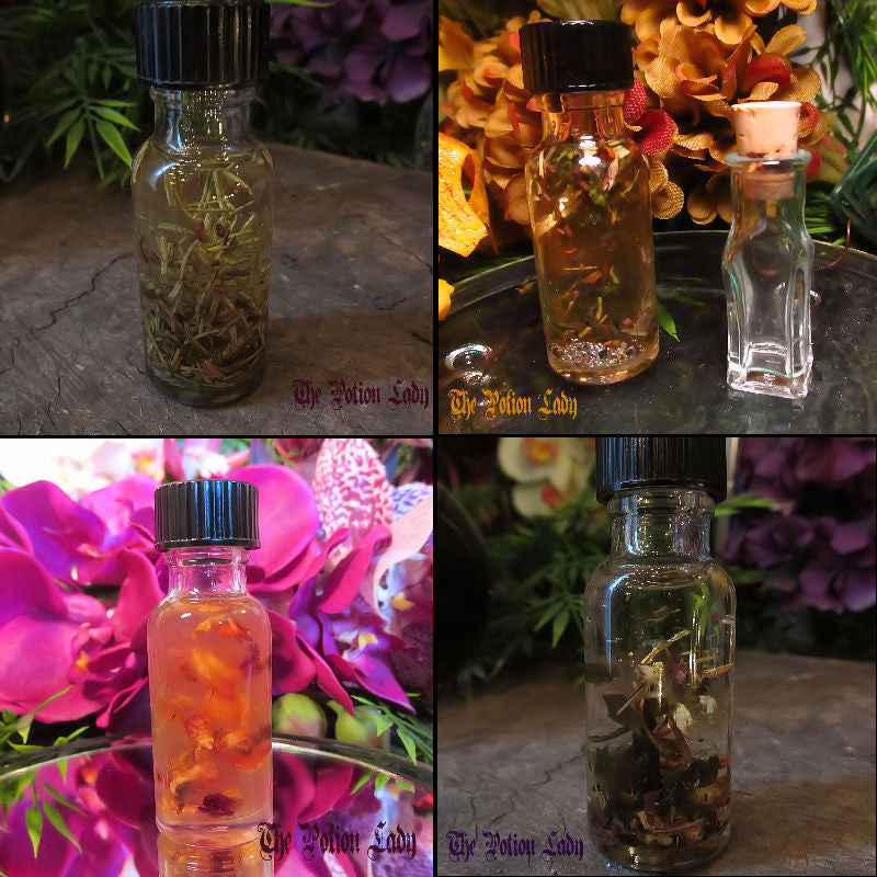 House Blessing Oil | Health, Happiness, Prosperity | The Potion Lady