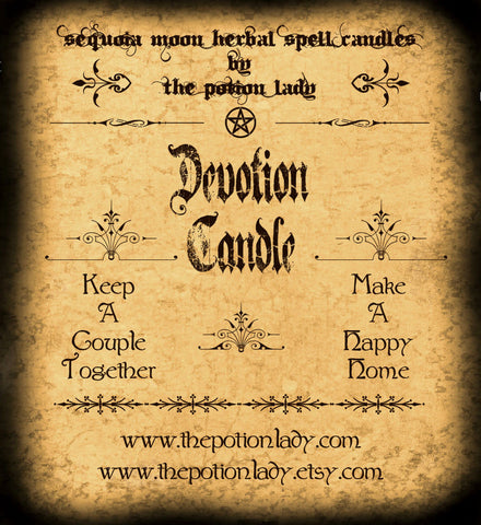 Devotion Candles by The Potion Lady