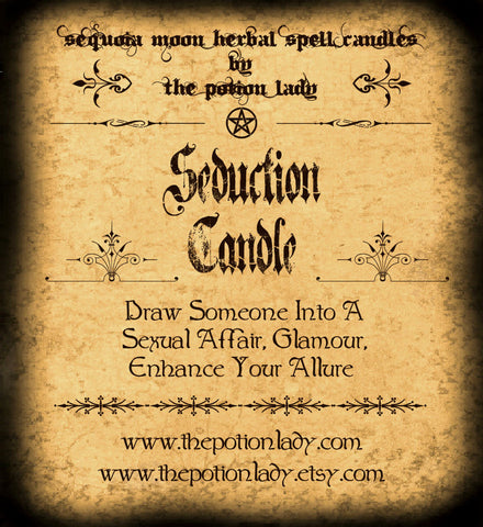 Seduction Candles by The Potion Lady