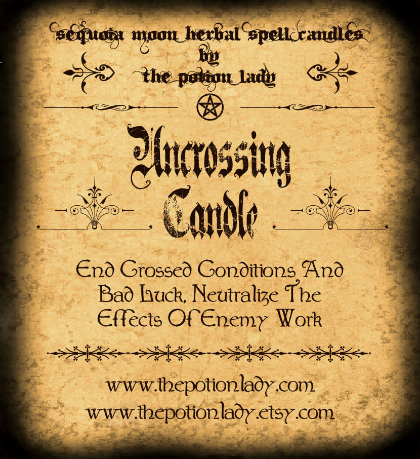 Uncrossing Candles by The Potion Lady