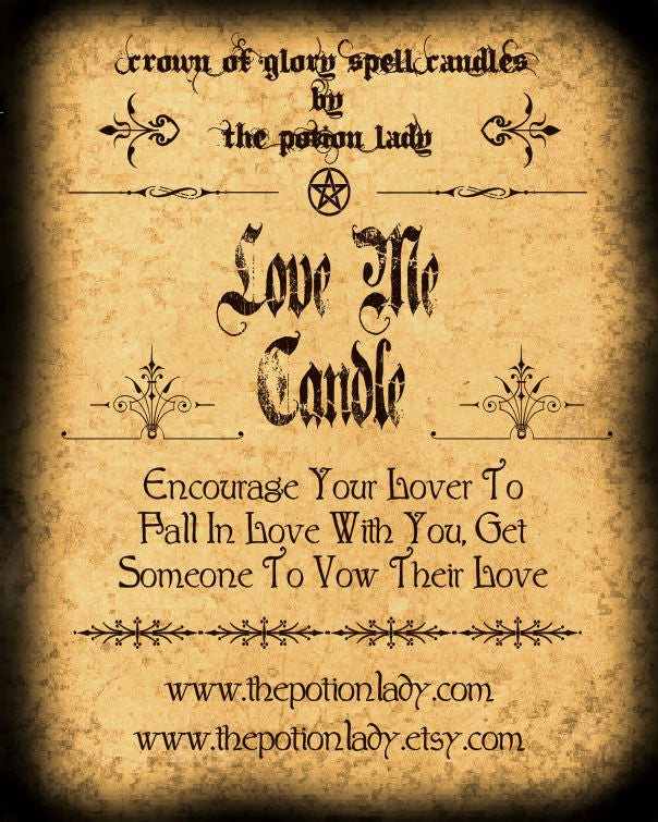 Love Me Candles by The Potion Lady