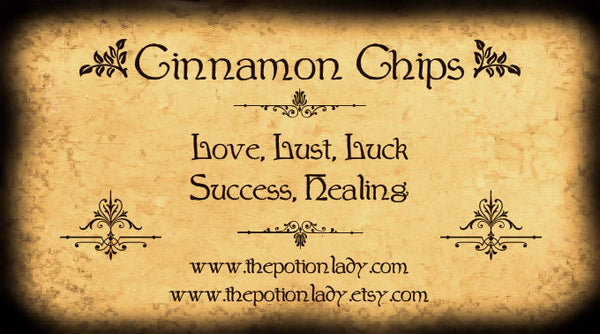 Cinnamon Chips | Cassia Bark, Sweet Wood | Money, Love, Luck, Healing, Success